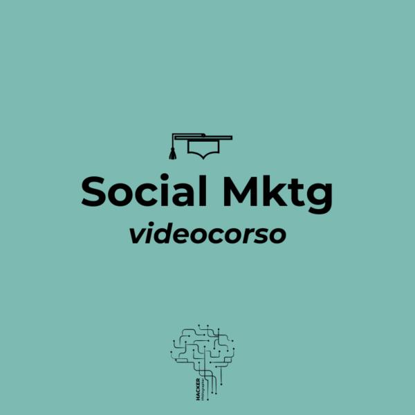video corso social marketing hacker photographer