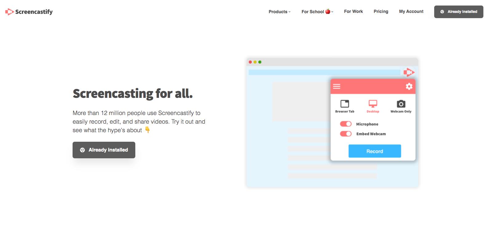 screencastify smart work