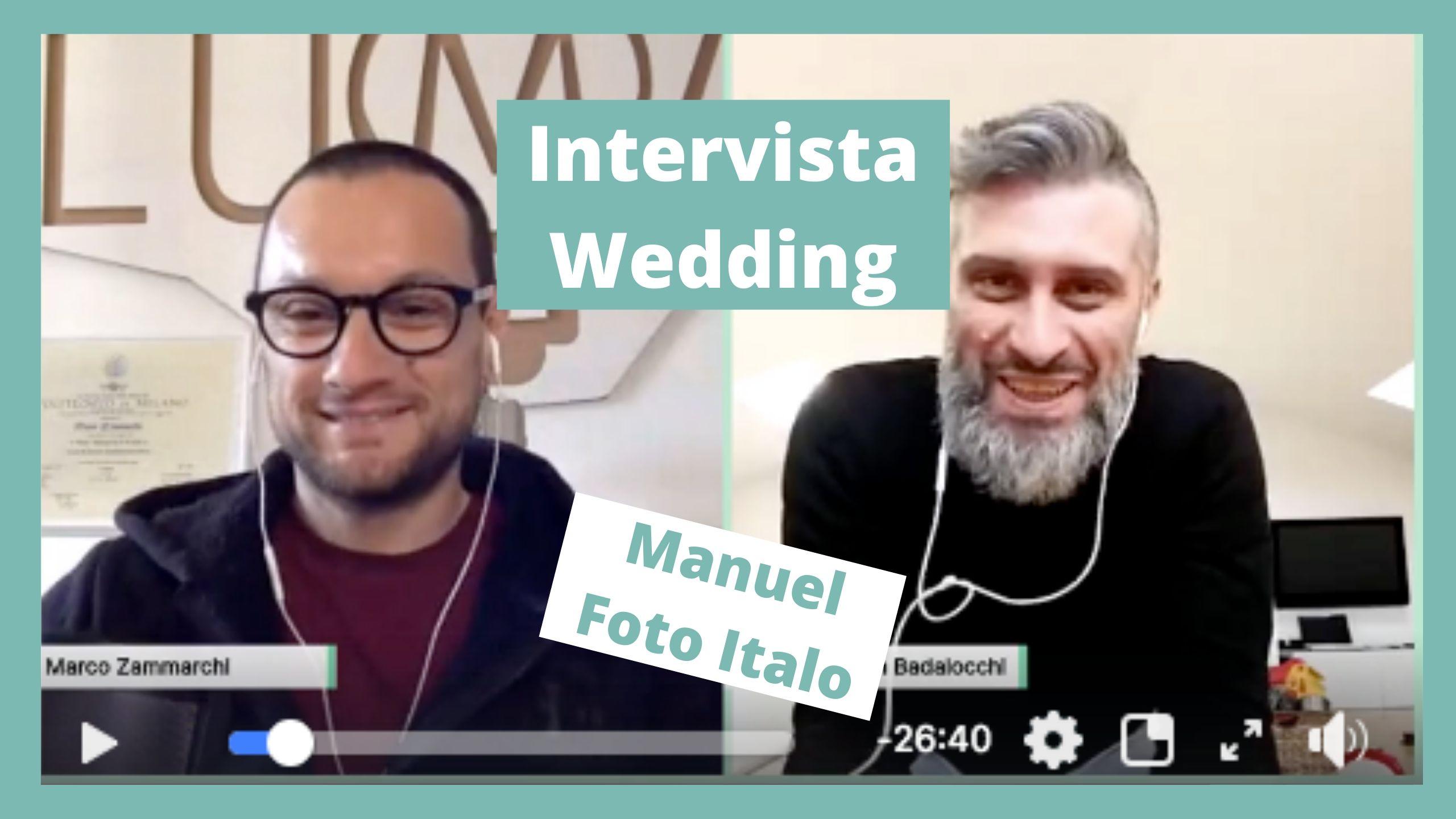 Intervista a Manuele Badalocchi