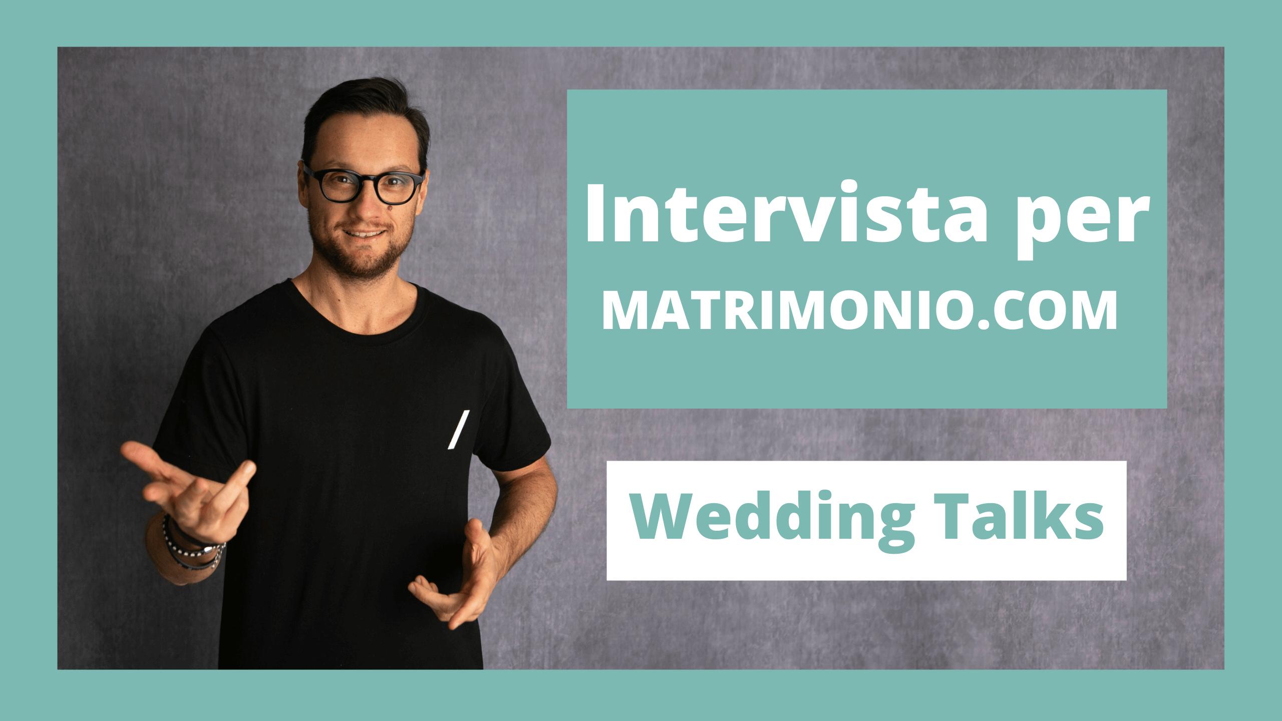 intervista matrimonio.com