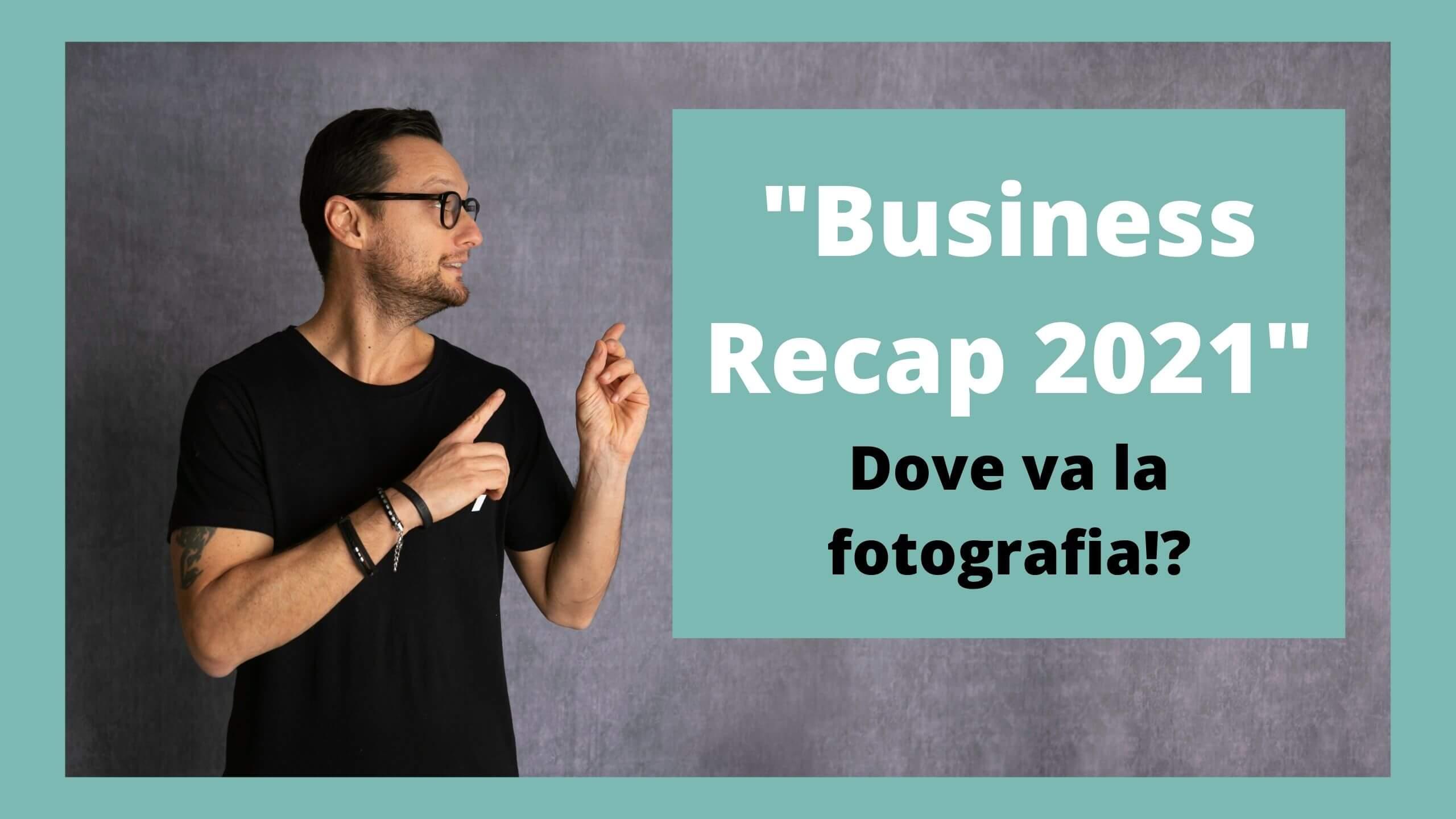 Business Recap marketing per fotografi