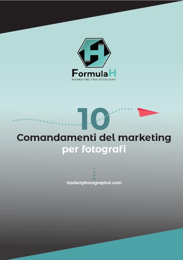 10 comandamenti di marketing per fotografi